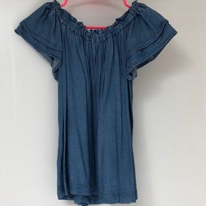Loft darling chambray